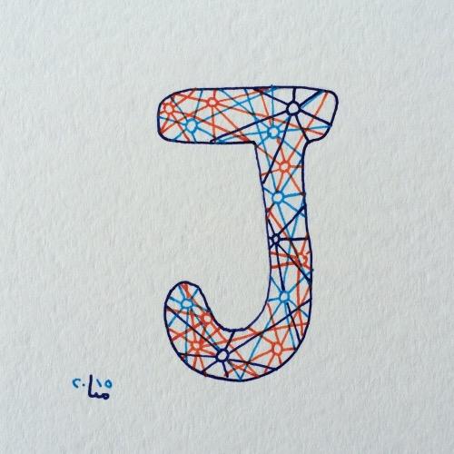 J für…