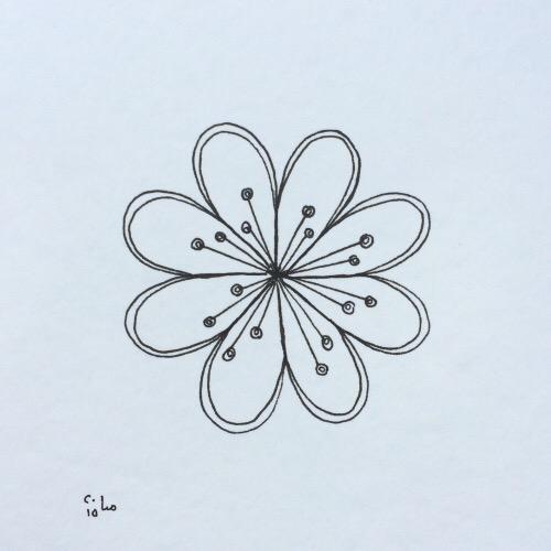 Tintenblume no. 2