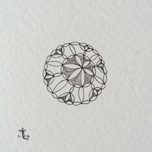 Tintenblume no. 7