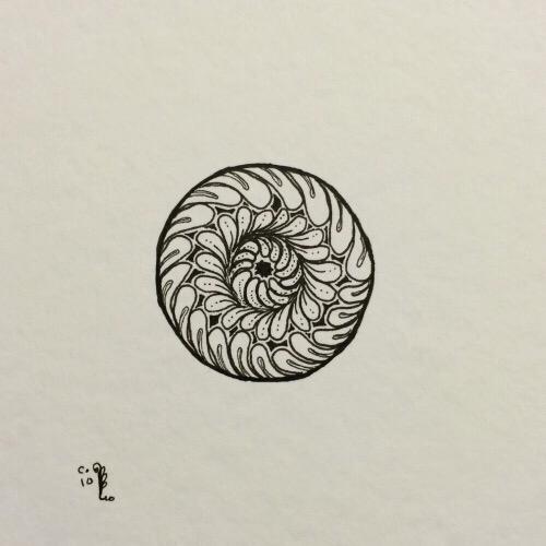 Tintenblume no. 9