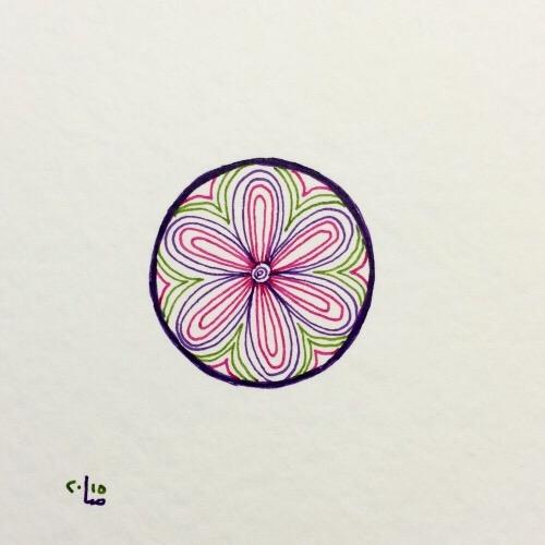 Tintenblume no. 12