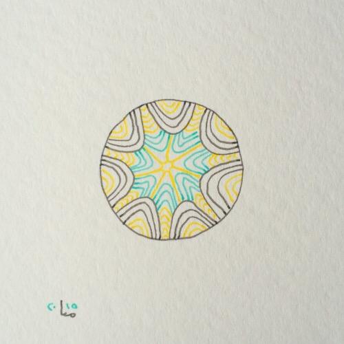 Tintenblume no. 14