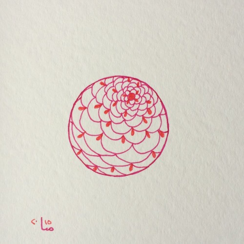 Tintenblume no. 15