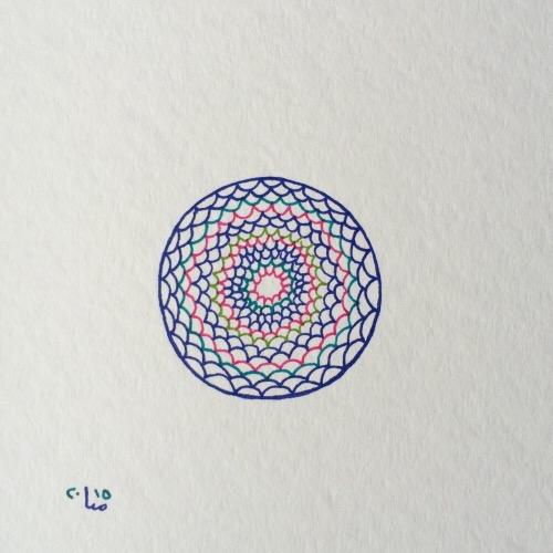 Tintenblume no. 16