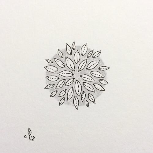 Tintenblume no. 17