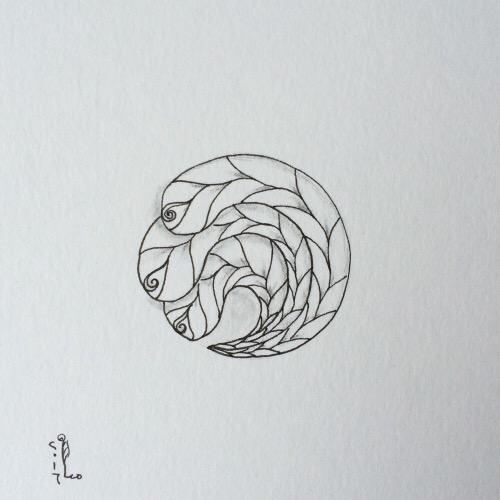 Tintenblume no. 20