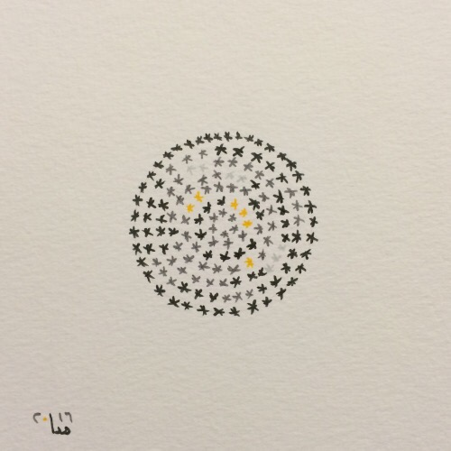 Tintenblume no. 23