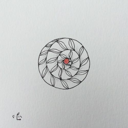 Tintenblume no. 26