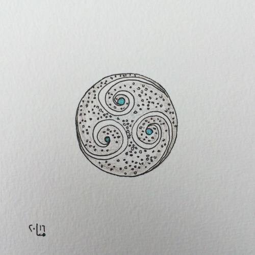 Tintenblume no. 28