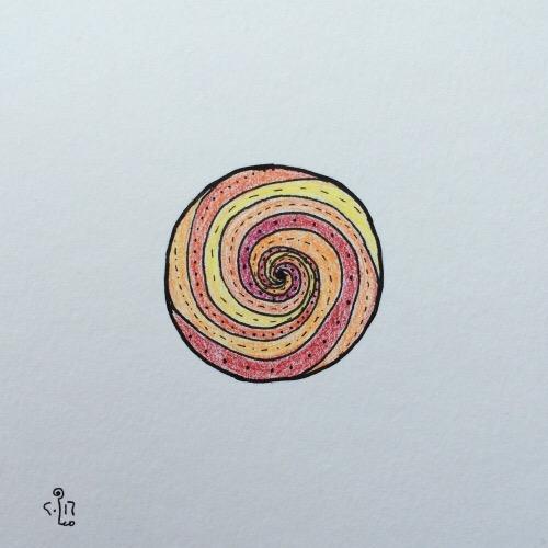 Tintenblume no. 30