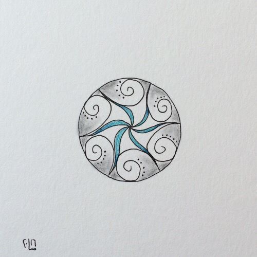 Tintenblume no. 32